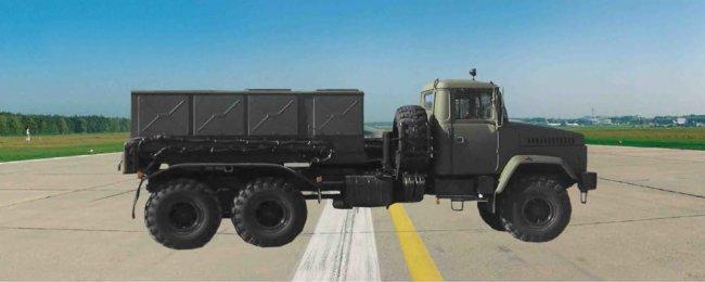 Аэродромный передвижной агрегат АПА-80